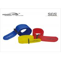Quality Stretchy Velcro One Wrap Straps , Wide Velcro Straps For Cables 20mm - 30mm Size wholesale