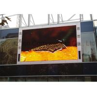 Quality Customized P10 SMD Advertising Outdoor Full Color LED Display Large High Brightness  Video Wall for Building wholesale