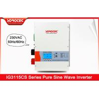 Buy cheap 10000W 50Hz / 60Hz Hybrid Solar Energy Storage Inverter With Color Screen from wholesalers