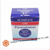 Quality Paracetamol 500mg Tablets External Use , Fever Medicine Paracetamol Pain Killer Pills wholesale