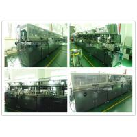 Lubricating Oil Bottle Automatic Screen Printing EquipmentMulti Colors Printing