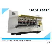 Buy cheap 5T Thin Blade Slitter Scorer Machine Manual Type Grinding And Auto Pneumatic Locking from Wholesalers
