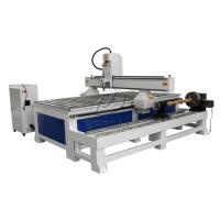 Quality Removable  4 Axis 1325 Woodworking  CNC Engraving Machine with Dia 300 Rotary Axis Holder wholesale