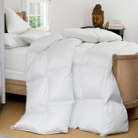 Buy cheap Grid Embossing Cotton Duck Down Feather Quilt / Luxurious Washed Thick Comforter from Wholesalers