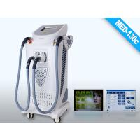 Buy cheap White Gray E-light IPL RF 60Hz Intense Pulsed Light Hair Removal Laser Machines with 2000W from Wholesalers