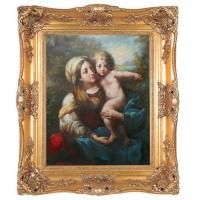Buy cheap Gold Leave Finish Painting Frame from Wholesalers