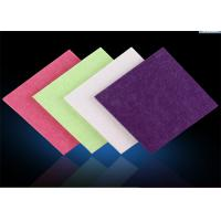 Buy cheap Industrial Polyester Felt Fabric Sheets , Recycled Coloured Felt Fabric from Wholesalers