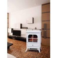 log burning electric flame effect fires fireplace stove ND-18D1P chimenea electrica WHITE