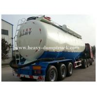 Buy cheap Stainless Steel / Aluminum 40cbm to 70cbm Tri axle cement tank trailer with 2 tool boxes from Wholesalers