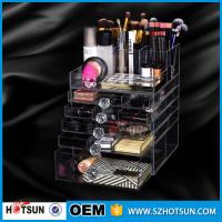 Buy cheap China new products acrylic makeup display, acrylic makeup box, acrylic makeup storage boxes from Wholesalers