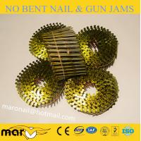 Buy cheap 15 Degree Vinyl Coated Wooden Pallet Wire Coil Nails from wholesalers