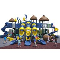 Buy cheap Cool Series Outdoor Playground Equipment Anti - Crack With Big Play Towers And Tube Slides from Wholesalers
