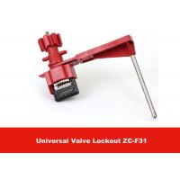 Buy cheap 327G Red Security Remote Controal Universal Valve Lockout with Single Arm from Wholesalers