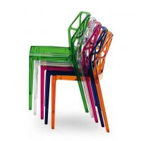 Buy cheap Echo Friendly Modern PC Plastic Dining Chair Chairs With Multi Colors from wholesalers
