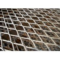 Buy cheap Factory price Black color expanded metal mesh 11.15kg/m2 weight from Wholesalers