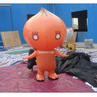 Quality Attractive Orange Onion Advertising funny inflatable costumes for kids wholesale