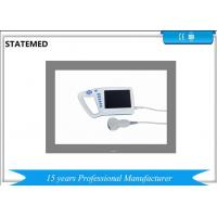 Buy cheap Palm Mini Portable Ultrasound Scanner Machine , 7 Inch LCD Ultrasound Scan Equipment from wholesalers