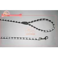 Buy cheap Glossy Pu Leather Rope Dog Leash In Two Tone Color From 4 Ft To 6 Ft With Clasp from Wholesalers