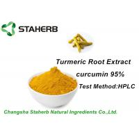 China Colorant Natural Food Additives Turmeric Root Extract Curcumin 95% HPLC on sale