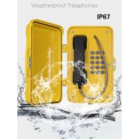 Buy cheap Anti Vandal Industrial Weatherproof Telephone , IP67 Heavy Duty Telephone from Wholesalers
