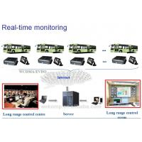 China BUS RS485 / RS232 3G vehicle DVR , 4 Ch H.264 Mobile DVR recorder 3G GPS WIFI for option on sale