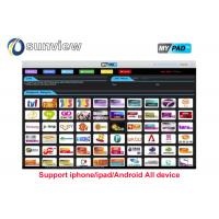 Buy cheap Vod Support Indian Iptv Subscription 1 / 3 / 6 / 12 Months Online English Channels from wholesalers