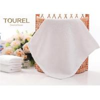 Buy cheap 100% Cotton White Hotel Face Towel from Wholesalers