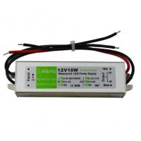Quality 12v IP67 waterproof constant voltage 10Watt led switch power supply for linear light, 2 yeas warranty wholesale