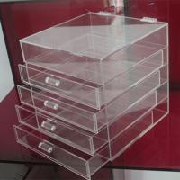 Buy cheap Hot clear 6 drawer  perspex / acrylic makeup organizer for wholesale from Wholesalers