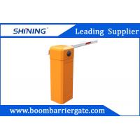 Quality 80 W AC Straight Arm Parking Lot Barrier Gate , Security Car Boom Barriers wholesale