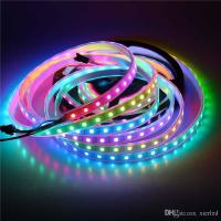 Buy cheap IP67 2811 IC SMD 5050 Dream Magic Color RGB 300-LED Strip Light String Lamp 5m/16.4ft 60LED/m DC 5V from Wholesalers
