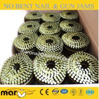 Buy cheap 15 Degree Spiral Shank Galvanized Pallet Coil Nails from wholesalers