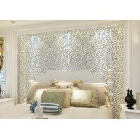 Buy cheap Wet Embossed Nonwoven Modern Removable Wallpaper Geometric Sound - Absorbing from Wholesalers