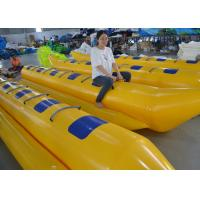 Buy cheap Customized Triple Welding Inflatable Water Toys / Inflatable Double Banana Boat from wholesalers