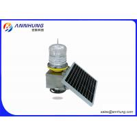 Quality LED DC12V Solar Aviation Obstruction Light SUS304 Stainless Steel Body wholesale