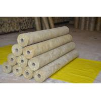 Buy cheap Thermal Rockwool Pipe Insulation Light Weight Thickness 25mm - 100mm from wholesalers