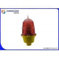 Quality Steady Burning  Aircraft Warning Lights for Buildings with Aluminum Alloy Base wholesale