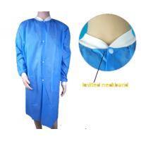 Buy cheap Medical Disposable Lab Coats , Industrial Protection Disposable Lab Jackets from Wholesalers
