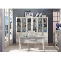 Buy cheap Large Bookcase Contemporary Home Office Furniture With Writing Desk from Wholesalers