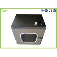 High Safety SS Pass Box Made From Corrosion Resistant Cold Rolled Steel Material