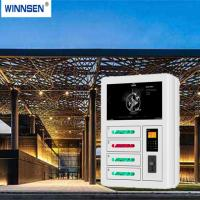 Buy cheap Coin Payment Commercial Cell Phone Charging Stations With Fast Charging Technology from Wholesalers