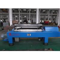 Quality Blue Horizontal Decanter Centrifuge Speed 3600 R/Min Starch Washing And Dehydrating for sale