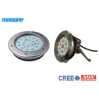 Buy cheap Cree 316 Stainless Steel Pool Lamps Underwater Led Lighting For Fountains from Wholesalers