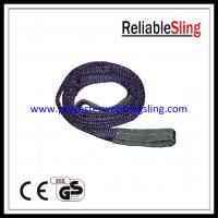 1Ton Polyester Flat Webbing Sling for Lifting , Eye and Eye Sling