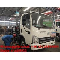 China factory sale best price customized FAW 4*2 RHD diesel road washing and sweeping vehicle, road cleaning truck for sale on sale