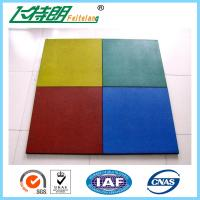 Quality Childrens Safety Protecting Rubber Mat For Playground of 500x500x25 cm wholesale