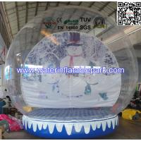 Buy cheap Advertising Inflatable Igloo Tent  Snow Globe Showing SGS / EN14960 from Wholesalers