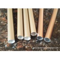 Buy cheap 20 x 20 Aluminium Oxide Round Tube With Golden and Copper Color from wholesalers