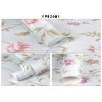 Buy cheap Eco - Friendly Custom Strippable Self Adhesive Wallpaper For Sofa Background from Wholesalers