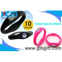 Quality Cheap 2011 most hot sale silicone ion power sports balance watches wholesale